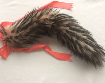 "Luxury 25"" Amour Kitten Play Faux Fur Tail"