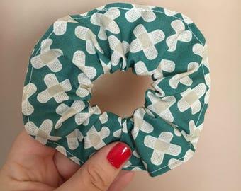 Hair tie scrunchie (medical print)
