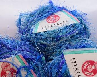 Fuzzy Fashion Yarn Blue Shades