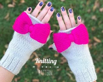 Finley Fingerless Gloves PATTERN