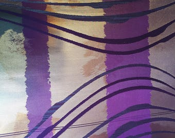 Purple Silk Fabric on Bolt  SB25