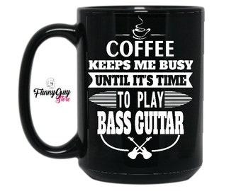 Bass Mug Cute Bass Mug Coffee Mug Bass Coffee Mug Bassist Mug Bass Fan Mug Bass Player Mug Best Bass  Mug Bass Birthday Mug Bassist Mug