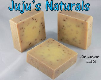Cinnamon Latte - Handmade Soap