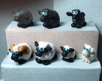 Sheep miniatures