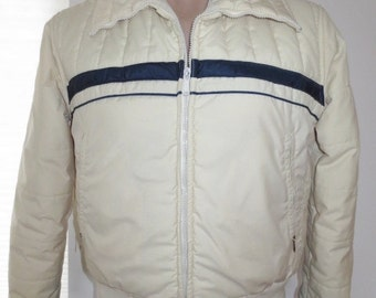 Vintage 1980's Men's Swing West Ski Jacket Coat Puffy Puffer sz  M or S