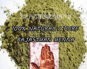 Pure Natural Henna Powder 100% from India Rajasthan.