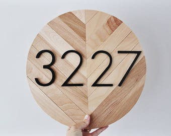 House Number Plaque, House Numbers, House Number, House Number Sign, Modern House Number, Address Plaque, Address Sign, House Numbers