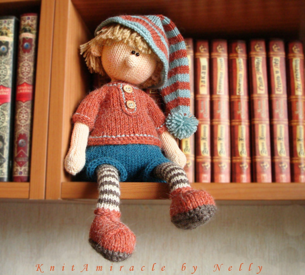 Knitting pattern doll toy knitting pattern knitted doll boy zoom bankloansurffo Image collections