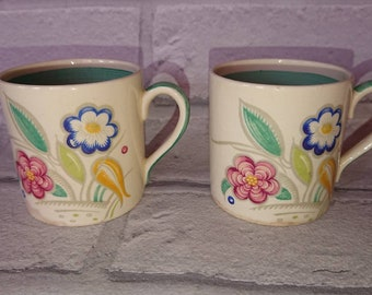 Beautiful little pair of Susie cooper coffee expresso cups.