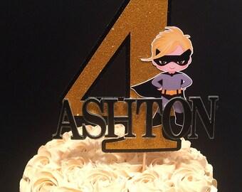 Batboy Inspired Cake Topper