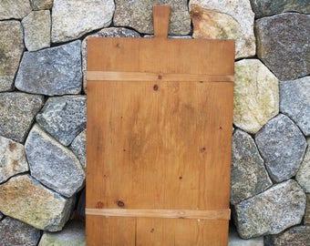 Antique German Rectangular Bread Board