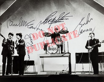 The Beatles - Autographed 8 x 10 Photo