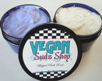 Sugar Scrub Soap 4oz - You Pick Scent - Body Polish - Bath Butter - Vegan bath guest