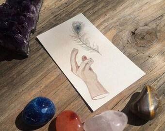 Portable Magic - Amulet Card