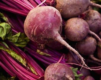 Detroit Red Beet Seeds, Beet Seeds, Non GMO Vegetable Seeds, Root Vegetable Seeds, Bulls Blood Beet Seeds, Heirloom Beet Seeds