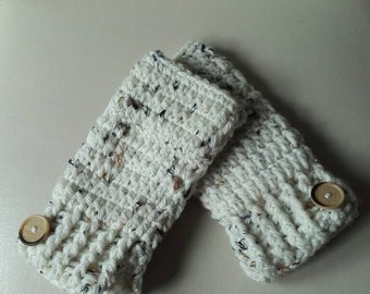 Ladies fingerless gloves, crochet gloves, winter gloves, fingerless gloves, ladies gloves, ready to ship