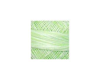 Lizbeth Thread Size 10 Variegated: #187 Green Ice