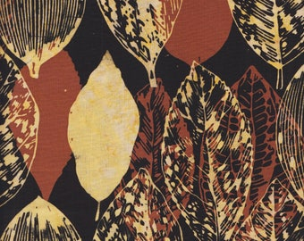 Hoffman Fabrics Bali Batiks 2862 610 Cappuccino Leaves By The Yard
