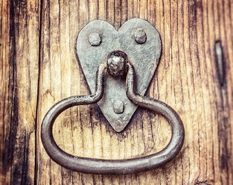 Rustic Farmhouse Decor, Housewarming Gift, Fixer Upper Decor Decor, Heart, Wedding Gift, Gift for Her, Anniversary Gift, Kitchen Decor.