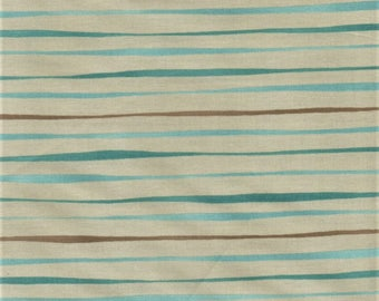 RJR Jardin Gris By Robyn Pandolph 2733 2 Blue Horizontal Lines By The Yard