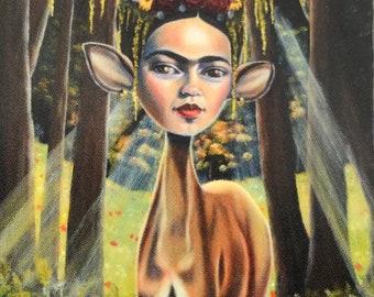 La Calma Antes De La Tormenta - Frida Kahlo - Vinyl Sticker