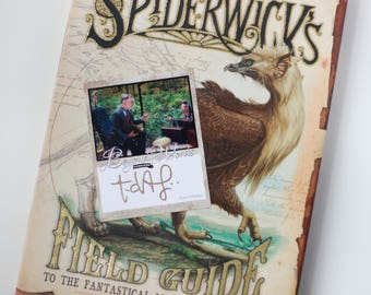 IMPERFECT Signed Tony DiTerlizzi book plate featuring image from the 2016 Beyond Words fantasy author calendar