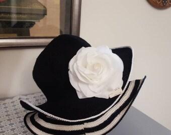 Beautiful handmade crocheted hats