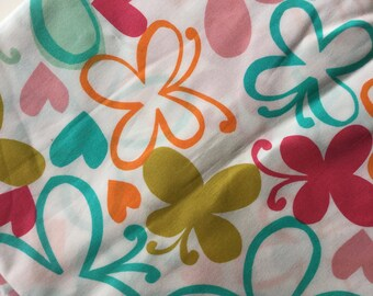 Follow Your Imagination By Prints Charming Butterflies & Love Hearts Fat Quarter Quilt Fabric Sewing Fabric Retro Fabric