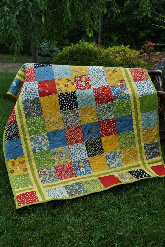 Pdf Quilt Pattern Charm Square Layer Cake Or Fat Quarter
