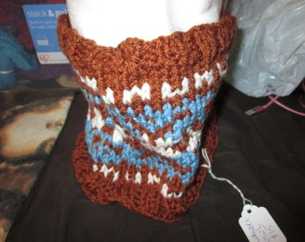 Colorwork cowl
