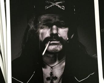 Lemmy - Signed Print