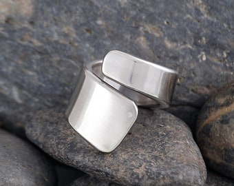 Silverware Handle Ring (Spoon Ring) Size 6 1/2 SR161