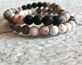 bead bracelet,lava bead bracelet,essential oil bracelet,diffuse bracelet,gemstone bracelet,natural jewelry,bracelet for women,gift for mom