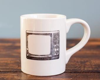 Retro TV Mug