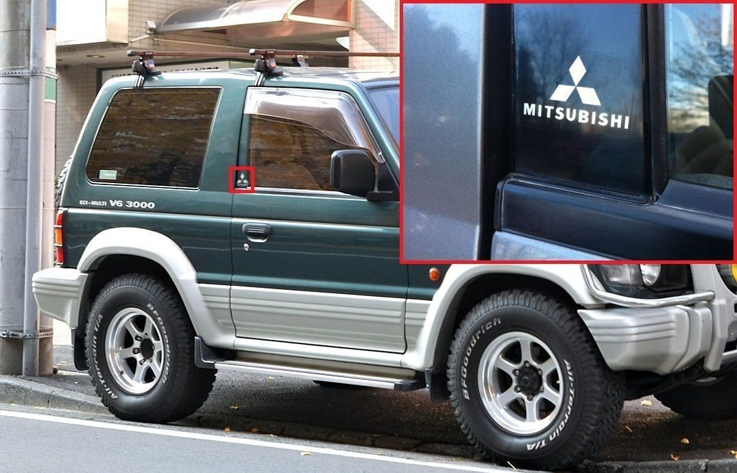 Mitsubishi Pajero Stickers Mary Rosh