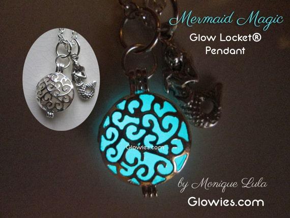 Mermaid's Magic Glow Locket