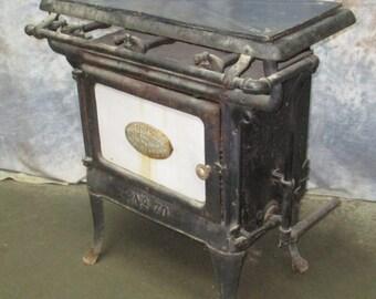 Domestic Trenkamp Stove & Mfg Co Cleveland Gas Kitchen Cook Stove Vintage, Vintage Cook Stove, Gas Stove, Vintage Kitchen