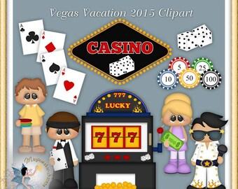 Las Vegas Vacation Clipart, Casino