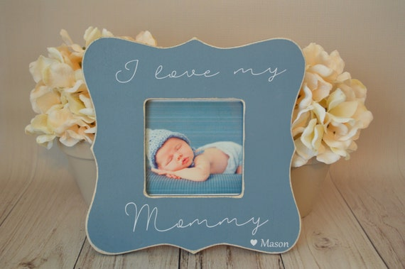 Mom picture frame Custom picture frame I love my mommy picture frame ...