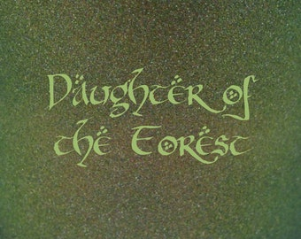 """Daughter of the Forest holographic nail polish 15 mL (.5 oz) from the """"Ladies of Middle-Earth"""" Collection"""