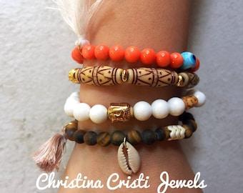 Boho Jewelry, Boho Bracelets, Bohemian Bracelets, Ethnic Bracelets, Women's Jewelry, Gift for Her.