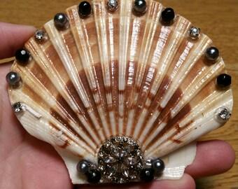 Mermaid Shell Hair Clip