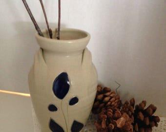 Petite Williamsburg Salt Glazed Stoneware Jug Vase