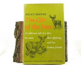 Nature Book, The Gift of the Deer, Gift Under 30, Helen Hoover, Animal Books, Natural History, Nature Lover Gift, Nature Stories