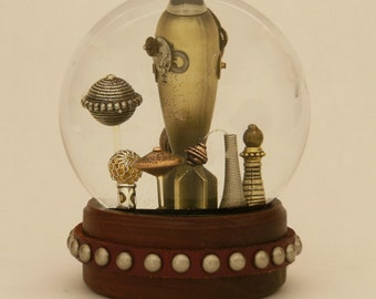 The Bomb or Hide in Plain Sight snow globe