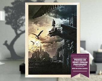 I Frankenstein, fanart, i frankenstein movie, i frankenstein print, best posters, i frankenstein poster, cool art, cool poster