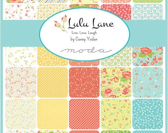 Lulu Lane Fat Eighth Bundle by Corey Yoder for Moda Fabrics
