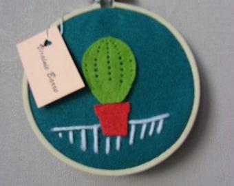 embroidery 11 cm diameter bamboo hoop