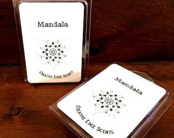 Mandala Wax Tart | Blueberry Cobbler