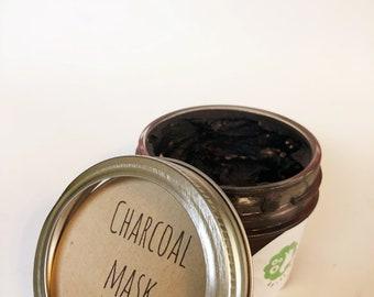 Exfoliating charcoal mask